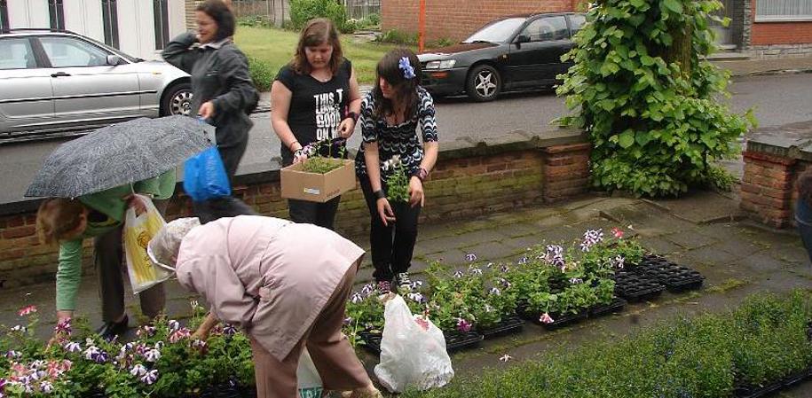bloembakkenactie 2008