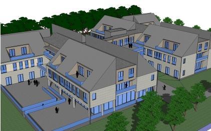 3D concept van plannen Spreeuwenhof